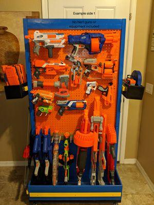 Nerf Storage / Organizer Rack (No Nerf Guns Included) for Sale in Litchfield Park, AZ
