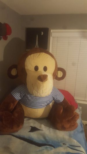 Huge Monkey stuffed Animal for Sale in Suisun City, CA
