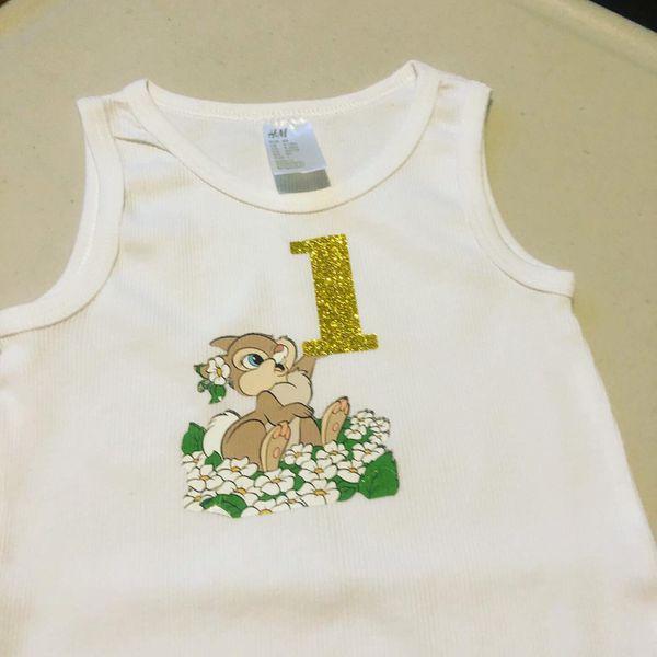 1st bday shirts