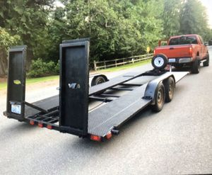 19ft car trailer for Sale in Renton, WA