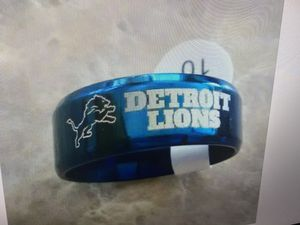 Detroit Lions titanium ring for Sale in Pipersville, PA