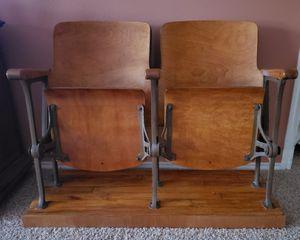 Vintage theater seats for Sale in San Antonio, TX
