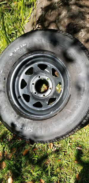 Trailer rim+tire (1) for Sale in Antelope, CA