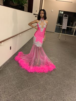 Senior prom pink dress for Sale in Baltimore, MD