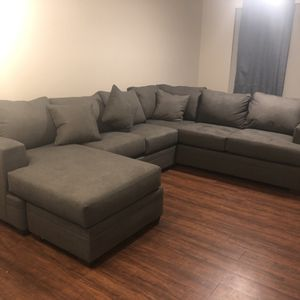 Sectional and Ottoman for Sale in Chandler, AZ