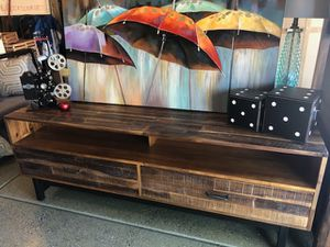 "Brand New 74"" Media Console (Dimensions: 74""x18""x26"") REGULAR RETAIL $545 for Sale in North Las Vegas, NV"