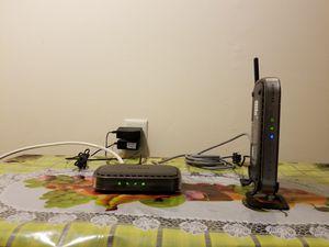 NETGEAR Modem + Wireless Router for Sale in Quincy, MA