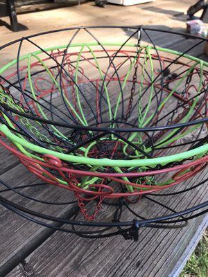 Wire Flower Hanging Baskets for Sale in Gresham, OR