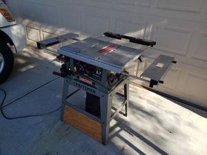 """Craftsman 10"""" Table Saw for Sale in Tolleson, AZ"""