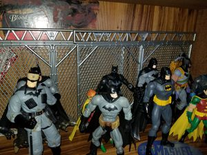Batman action figures toys collectibles marvel legends for Sale in Montclair, CA