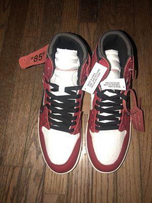 5e48f789d2 Jordan 1 Retro Off-White Size 11 New Without Box for Sale in Hazel Park