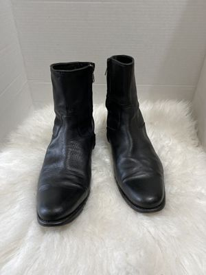 $395 | N.D.C. MADE BY HAND BLACK LEATHER SOLE CHELSEA BOOTS MEN 41.5 /8.5 for Sale in Dearborn, MI