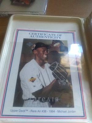 Michael Jordan 1995 bronze mint card next for Sale in Evesham Township, NJ