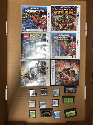 Nintendo Games • 3DS • DS • GameBoy Advanced • GBA • Charger • Case for Sale in Margate, FL