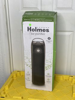 Holmes aer1 Tower HEPA Air Purifier with Air Ionizer and Visipure Air Filter Viewing Window (HAP9423-UHA) for Sale in Orlando,  FL