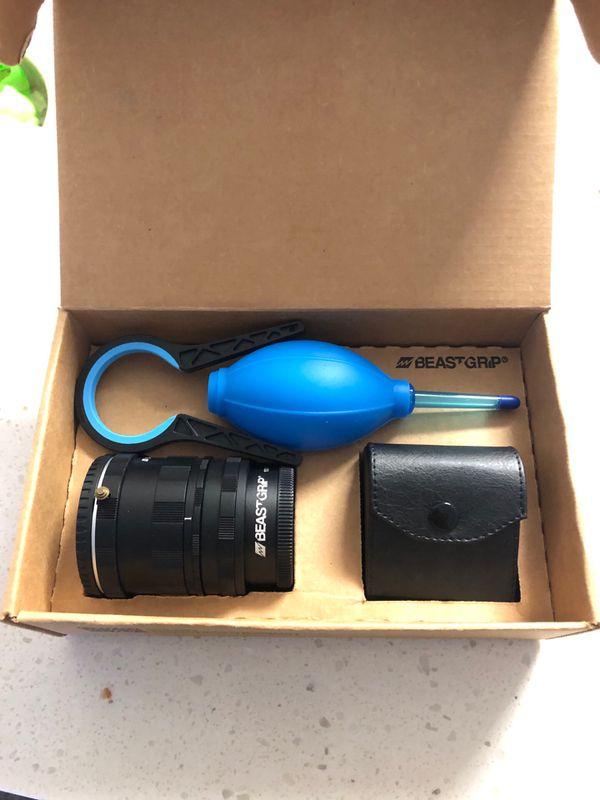 Beast Grip Smartphone Rig + DOF Adapter & 52-60mm lens