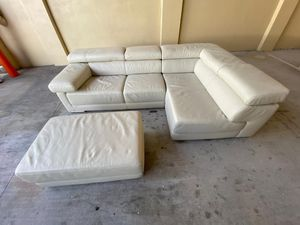 Italian sectional couch for Sale in Hollywood, FL