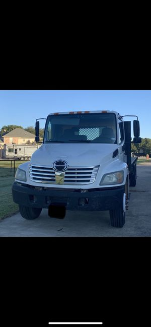 2007 HINO 268 Flatbed for Sale in Quinlan, TX