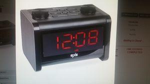 SXE BLUETOOTH SPEAKER FM ALARM DIGITAL CLOCK RADIO for Sale in Columbus, OH