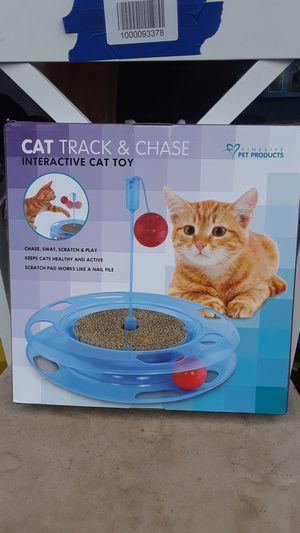 Chat track and Chase interactive cat toy for Sale in Federal Way, WA