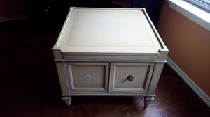 Large and sturdy side table for Sale in Allen, TX