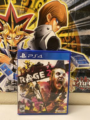 Selling My Brand New Adult Owned Opened Up Rage 2 Game For PS4. for Sale in San Diego, CA