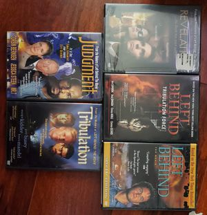 CHRISTIAN MOVIES LEFT BEHIND ETC VGC for Sale in Bakersfield, CA