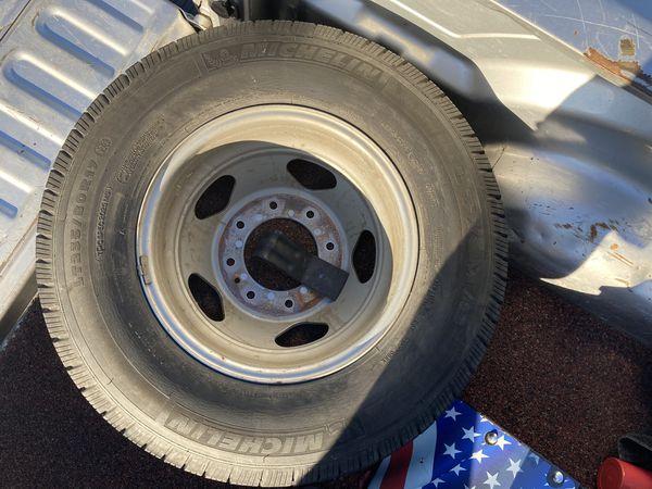 Dually Wheels LT 235/80r17