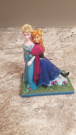 Frozen anna and elsa sisters music box figure for Sale in Tacoma, WA