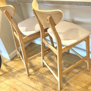 Modern bar stool- solid wood! for Sale in Boston, MA