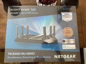 Netgear Nighthawk X6S Router for Sale in Rialto, CA