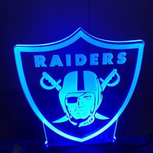 Brand New Raiders Lights For $80 obo for Sale in San Jose, CA