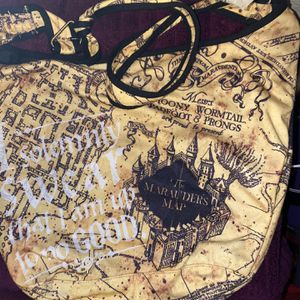 Harry Potter Marauders Map Hobo Bag for Sale in El Mirage, AZ