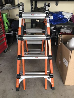 Gorilla 17 foot fiberglass multi position ladder (300 lb rated / 1A) for Sale in Seattle, WA