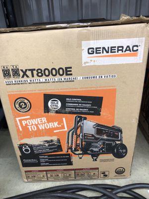 Generac XT8000E for Sale in Rockford, IL