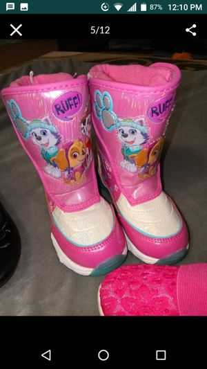 New! Girls Size 11 Paw Patrol Boots for Sale in Federal Way, WA