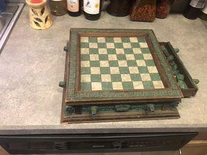 Antique Chess Set for Sale in Toms River, NJ