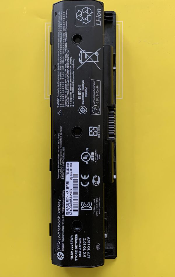 HP Notebook Battery P106 10.8V