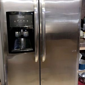 Stainless Steel Side By Side Freezer And Fridge for Sale in Turlock, CA