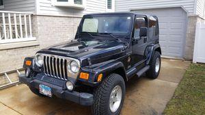 2000 Jeep Wrangler Sahara for Sale in Peru, IL