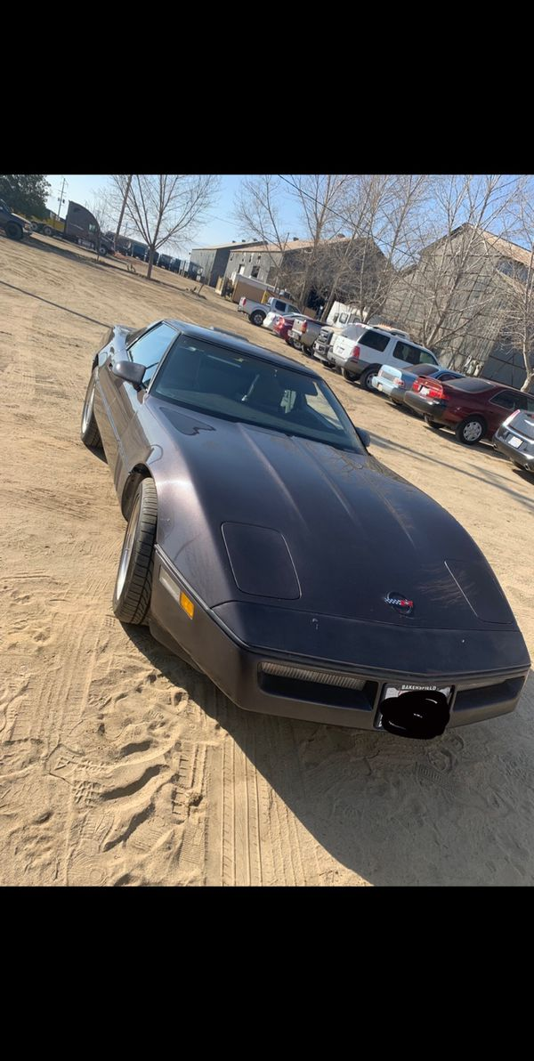 1986 C4 corvette. willing to trade!