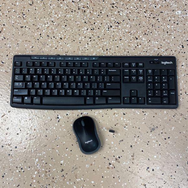 Logitech Wireless Mouse And Keyboard