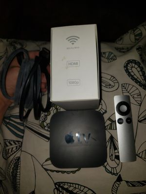 Apple TV 3rd gen with HDMI cable for Sale in Park Ridge, IL