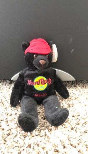 Collectible Hard Rock Cafe Dallas beanie baby for Sale in Atlanta, GA