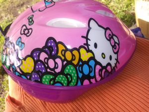 Like new Hello kitty helmet $20 for Sale in Mesquite, TX