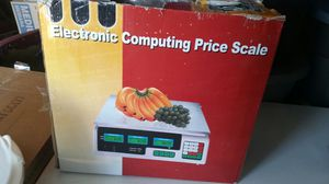 electronic scale w/ lbs & kilos for Sale in Durham, NC