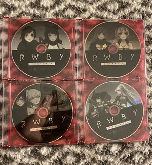 Rwby volume 1,3,4 for Sale in Livingston Manor, NY