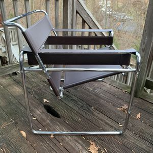 2 living room lounge seats - Pair of Dark Brown Wassily Chairs for Sale in Silver Spring, MD