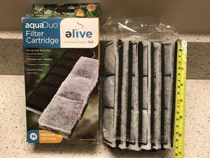 Elive Aqua Duo Aquarium Filter Cartridges - 6pcs NEW for Sale in Los Angeles, CA