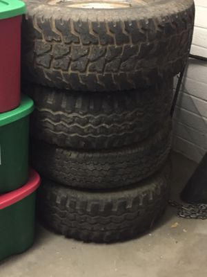 36. 16.5. And 16 inch tires for Sale in Payson, AZ
